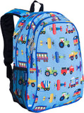 Wildkin 15 Inch Backpack, Trains, Planes & Trucks