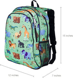 Wildkin 15 Inch Backpack, Wild Animals