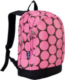 Wildkin 15 Inch Backpack, Big Dot Pink