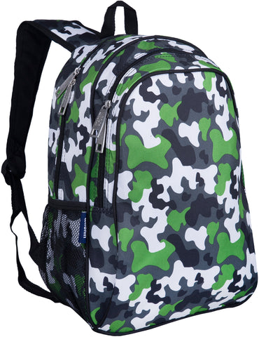 Wildkin 15 Inch Backpack, Green Camo