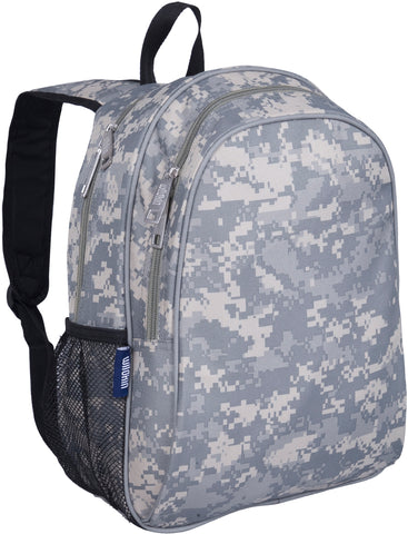 Wildkin 15 Inch Backpack, Digital Camo