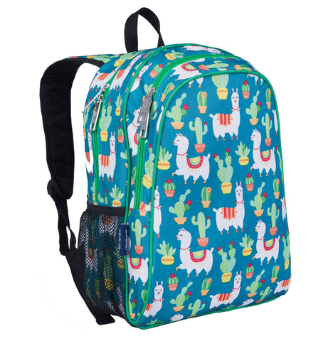 Wildkin 15 Inch Backpack, Llamas and Cactus