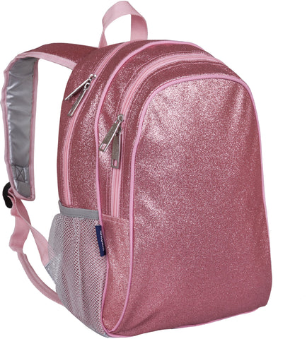 Wildkin 15 Inch Backpack, Pink Glitter