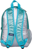 Wildkin 15 Inch Backpack, Blue Glitter