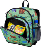 Wildkin Pack 'n Snack 12 Inch Backpack, Wild Animals