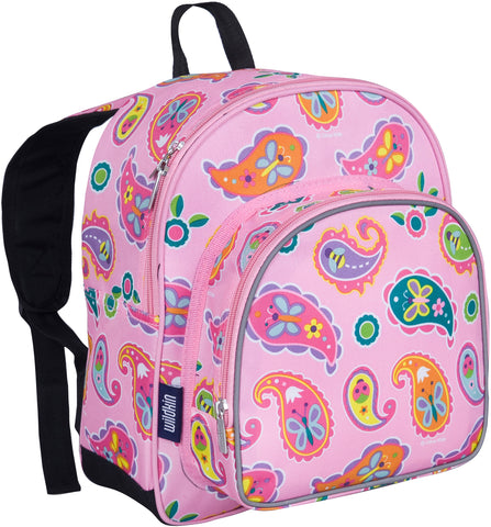 Wildkin Pack 'n Snack 12 Inch Backpack, Paisley