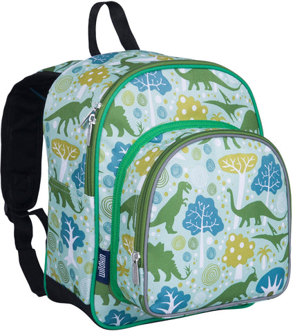 Wildkin Pack 'n Snack 12 Inch Backpack, Dinomite Dinosaurs