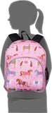 Wildkin Pack 'n Snack 12 Inch Backpack, Horses