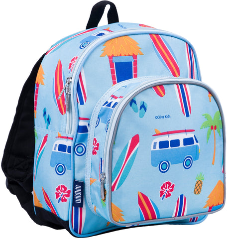 Wildkin Pack 'n Snack 12 Inch Backpack, Surf Shack
