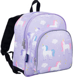 Wildkin Pack 'n Snack 12 Inch Backpack, Unicorn