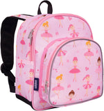 Wildkin Pack 'n Snack 12 Inch Backpack, Ballerina