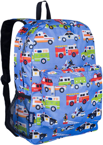 "Wildkin Crackerjack 16"" Backpack, Heroes"