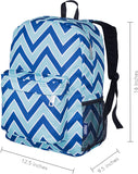 "Wildkin Crackerjack 16"" Backpack, Chevron"