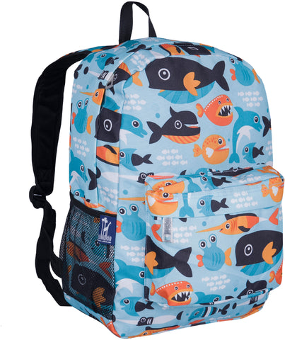 "Wildkin Crackerjack 16"" Backpack, Big Fish"
