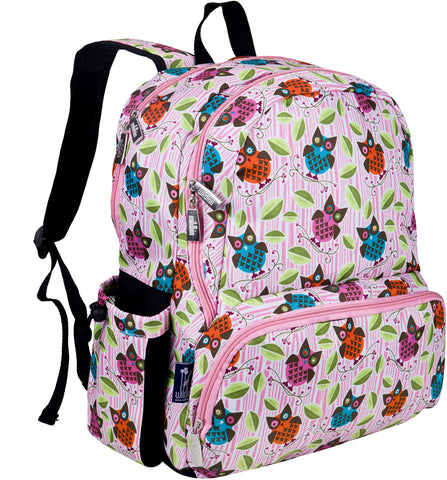 Wildkin Megapak 17 Inch Backpack, Owls