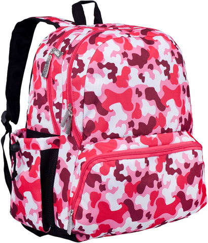 Wildkin Megapak 17 Inch Backpack, Camo