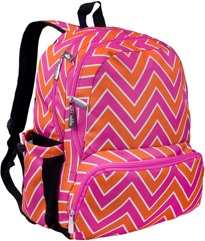 Wildkin Megapak 17 Inch Backpack, Chevron