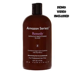 Amazon Series Remedy Smoothing Treatment (Scroll down to see Demo Video)