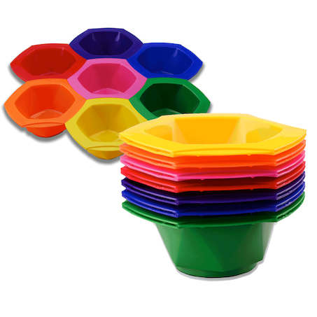 Framar Connect & Color Rainbow Colour Bowls