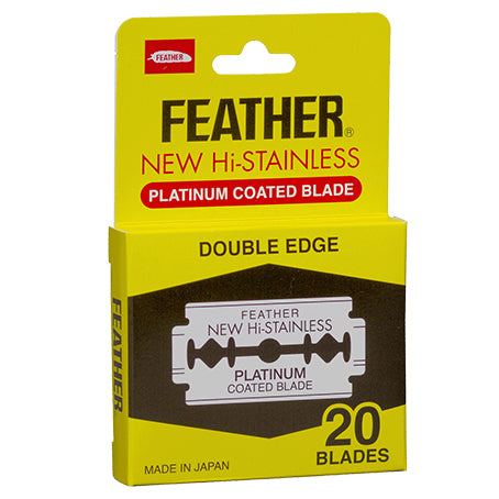 FEATHER Hi-stainless Steel Double Edge Razor Blades