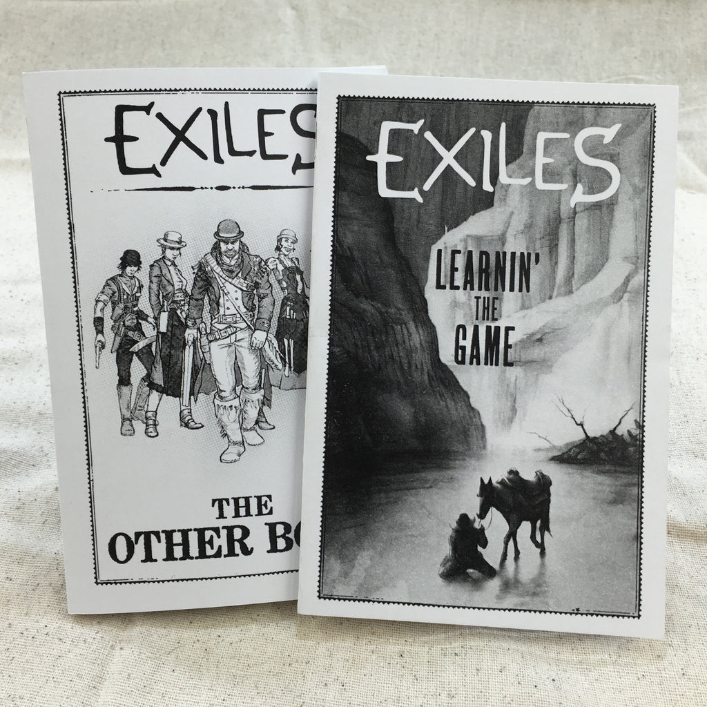 Exiles Rulebooks