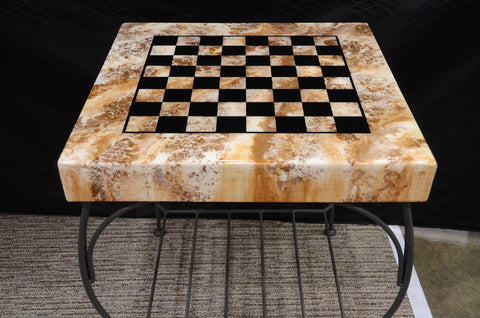 Chess Table - Shirley's Loft