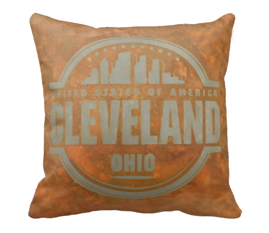 Cleveland USA Pillow - Shirley's Loft - 1