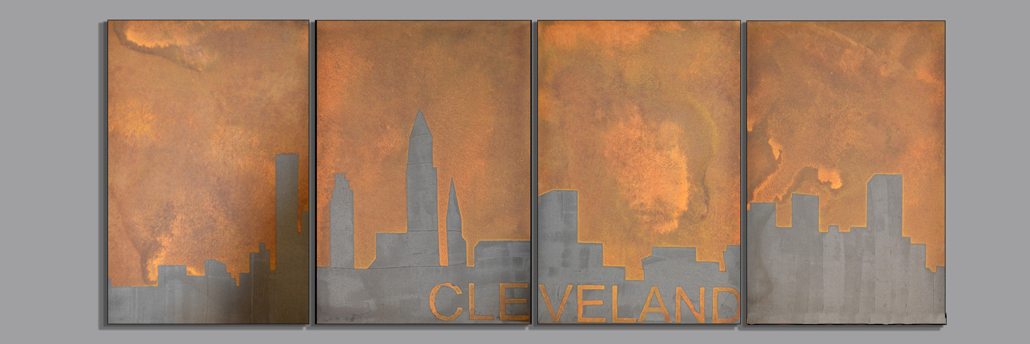 Cleveland Skyline on Blocks - Shirley's Loft - 2