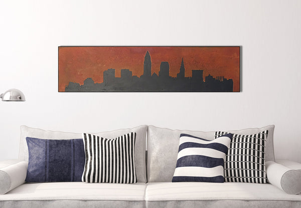 Cleveland Rusted Skyline - Shirley's Loft - 1