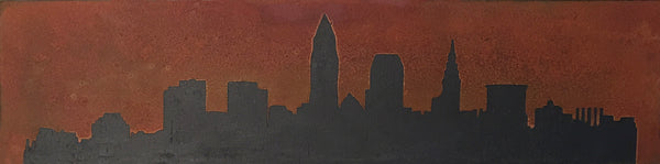 Cleveland Rusted Skyline - Shirley's Loft - 2