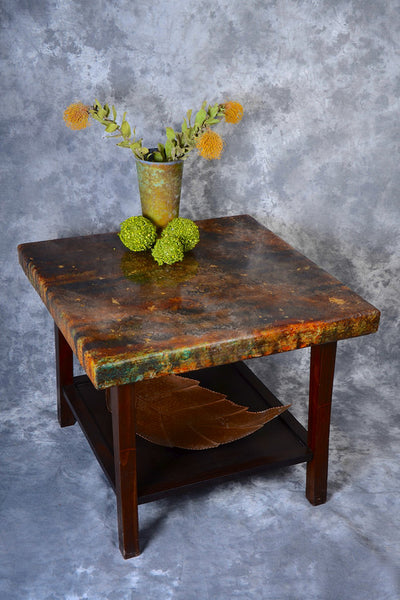 Patina End Table - Shirley's Loft