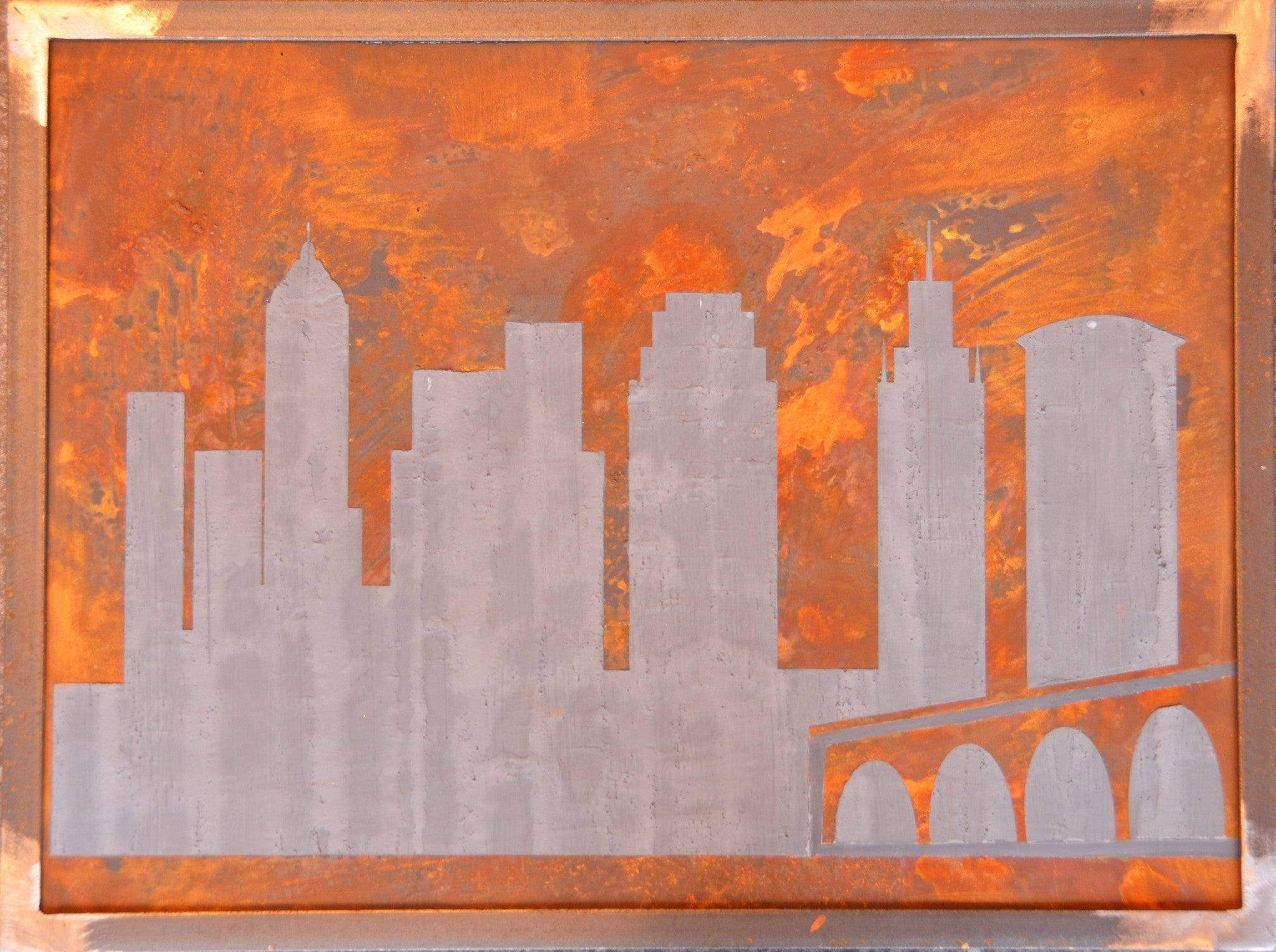 Cleveland Skyline with Steel Frame - Shirley's Loft - 2