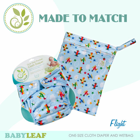 Flight Made to Match Cloth Diaper Set