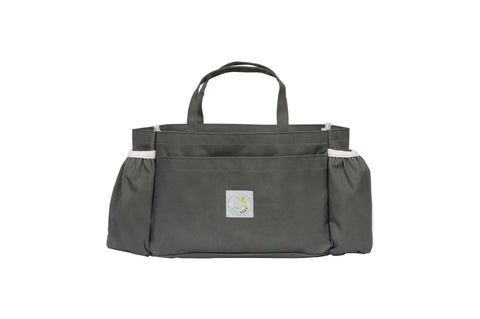 Light Gray Leaf Carry Me Baby Organizer