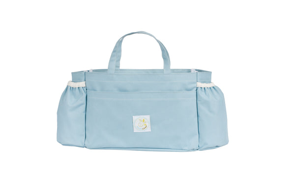 Powder Blue Baby Leaf Carry Me Baby Organizer