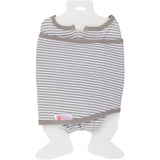 EMBE CLASSIC 2-Way Swaddle (Gray Stripe)