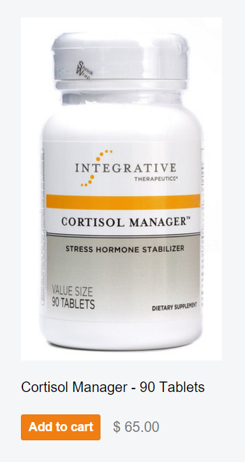 Cortisol Manager - Stress Hormone Stabilizer