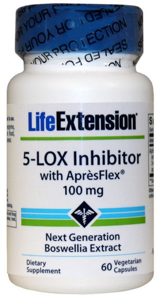 5-LOX Inhibitor with ApresFlex 100 mg - 60 Vegetarian Capsules