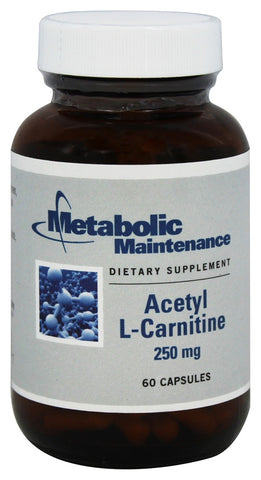 Acetyl-L-Carnitine 250 mg - 60 Capsules