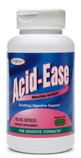 Acid-Ease - 180 Vegetable Capsules