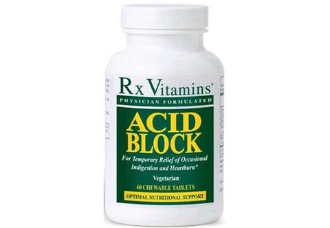 Acid Block (formerly GES-5) - 60 Chewable Tablets