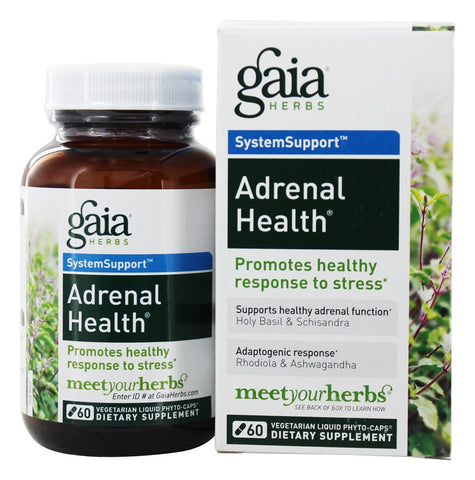 Adrenal Health - 60 Vegetarian Liquid Phyto-Caps