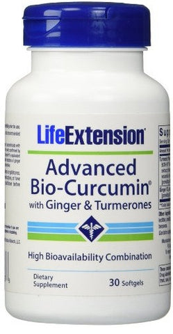 Advanced Bio-Curcumin with Ginger & Turmerones - 30 Softgels