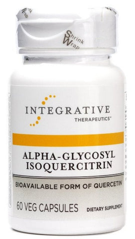Alpha-Glycosyl Isoquercitrin - 60 Vegetable Capsules