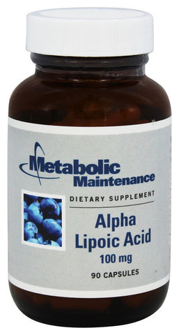 Alpha Lipoic Acid 100 mg - 90 Capsules