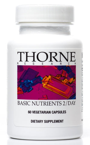 Basic Nutrients 2 / Day - 60 Vegetarian Capsules