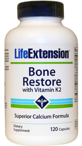 Bone Restore with Vitamin K2 - 120 Capsules