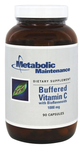 Buffered Vitamin C with Bioflavonoids 1000 mg - 90 Capsules