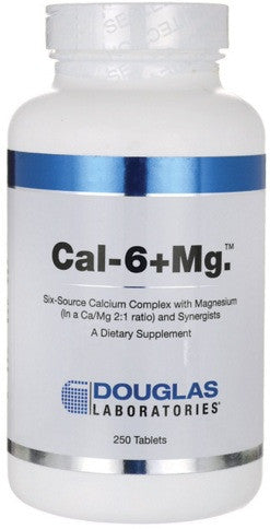 Cal-6 + Mg - 250 Tablets