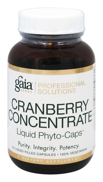 Cranberry Concentrate - 60 Vegetarian Liquid-Filled Capsules